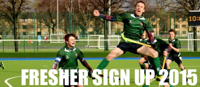 Click the image to sign up as a fresher for the 2015/16 season
